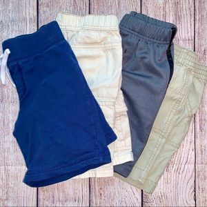 Boys Assorted Shorts (Bundle of 4) Size 4T